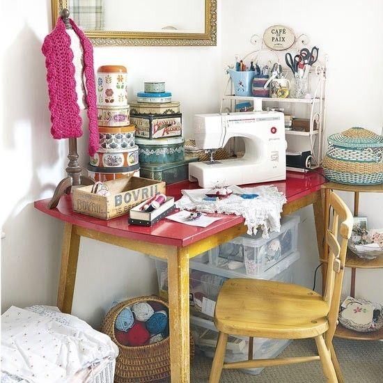 Schneidermaterialien  Atelier Home Office Modeatelier