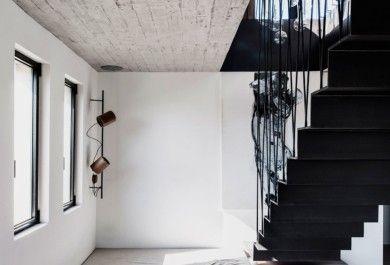 Moderne und minimalistische Ästhetik im interieur u ein stilvolles