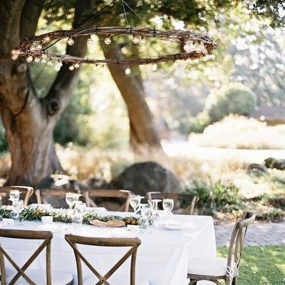 Stühle Holztisch Garten Outdoor