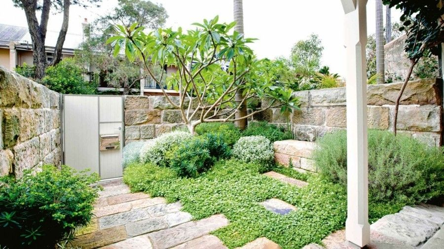 Steingarten deko landschaftsbau ideen