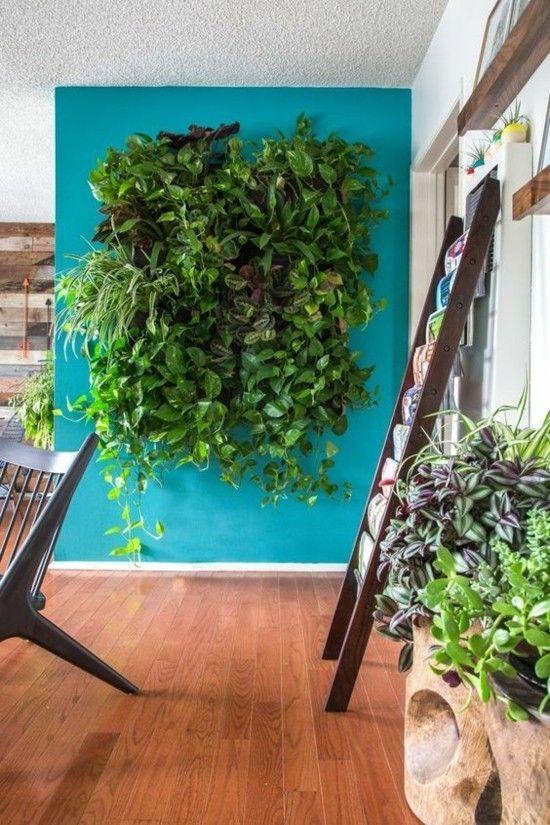 Vertikale Mini Gärten für den Innenraum