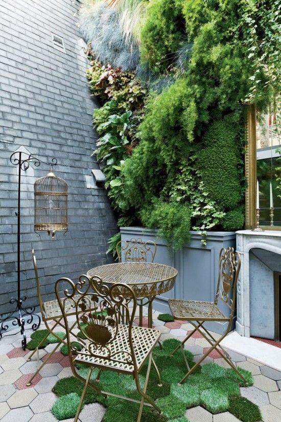 Vertikalen Wand Garten
