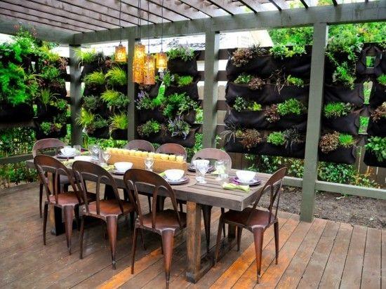 vertikaler garten - ein besonderes highlight für innen und außen, Gartenarbeit ideen