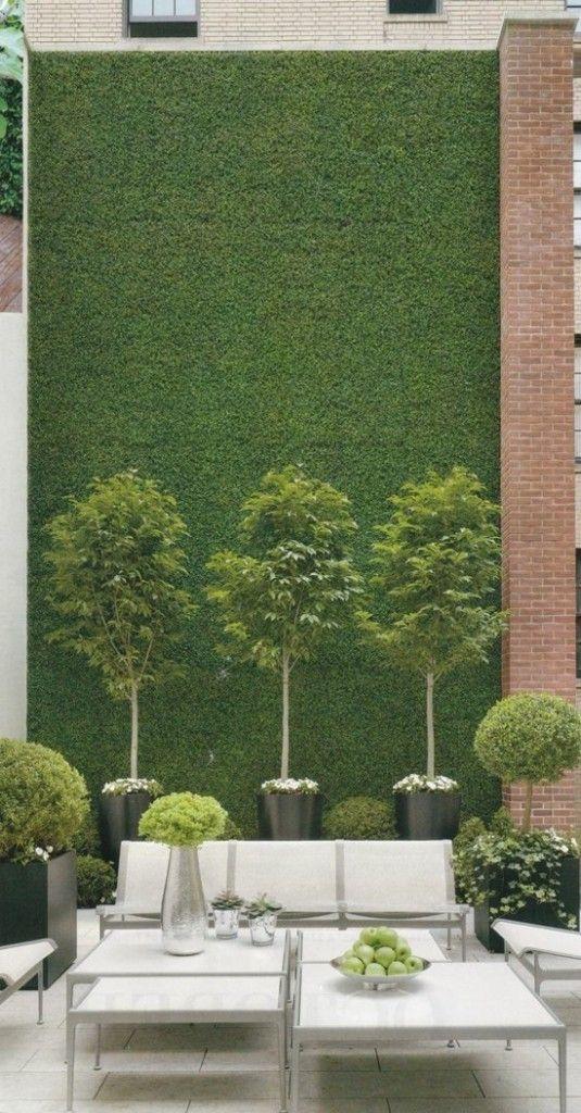 Wand Ideen Designs Vertikalen Garten