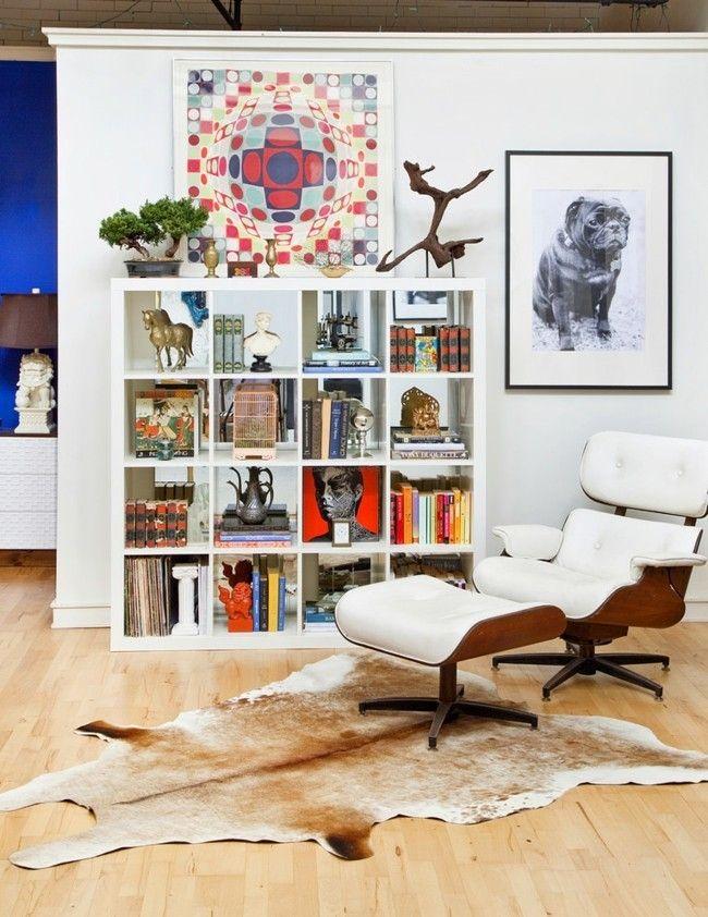 Wandregale Bücherregale weiß design