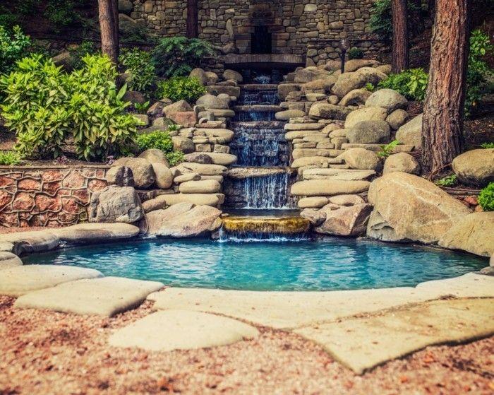 Wasser Garten Gestaltung Ideen