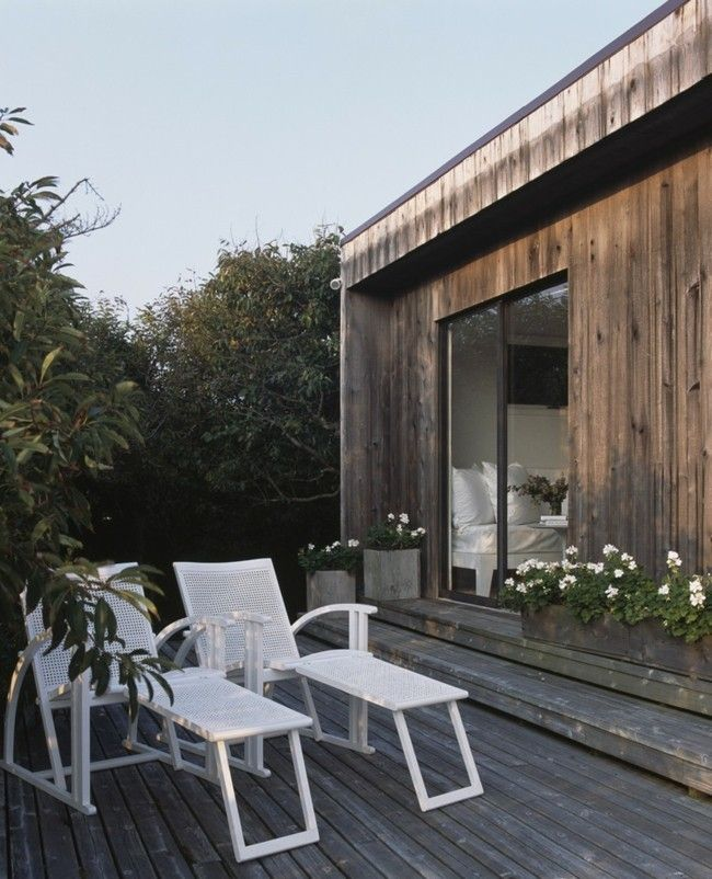 Weiß Gartenmöbel Lounger