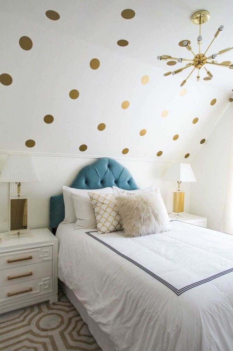 Pr chtige interieurs mit metallischen elementen die eine for Wohnideen jugendzimmer