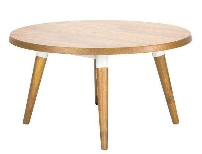 Wohnzimmer Beistelltische Holz Design