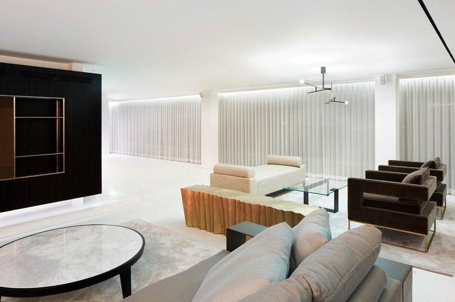 Wohnzimmer Gestaltung Ideen modern minimalistisch