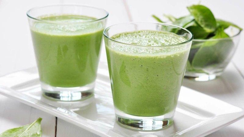 einen-grünen-smoothie Gesunde Ernährung