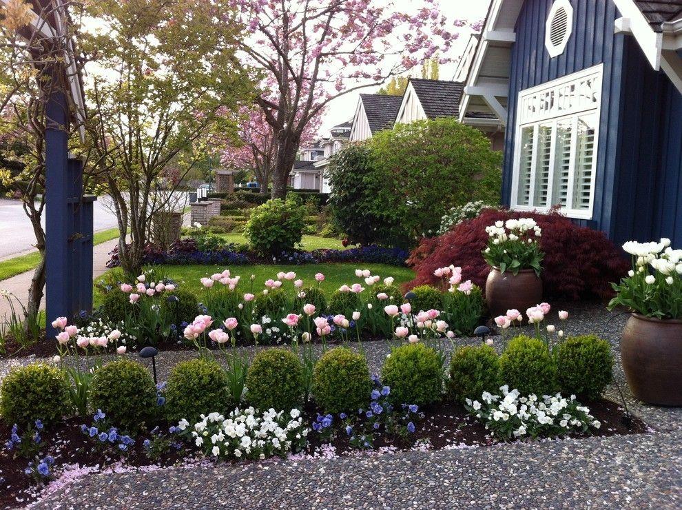 kleine Sträucher im Garten moderne Gartengestaltung