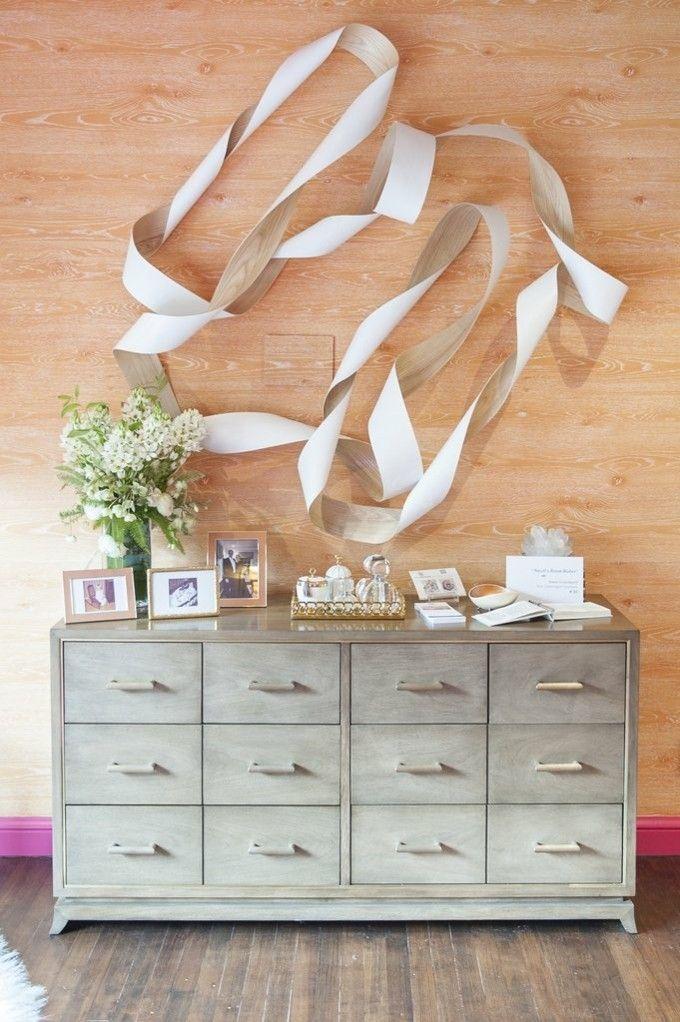 moderne Tapeten Wandgestaltung trendige Einrichtungsideen
