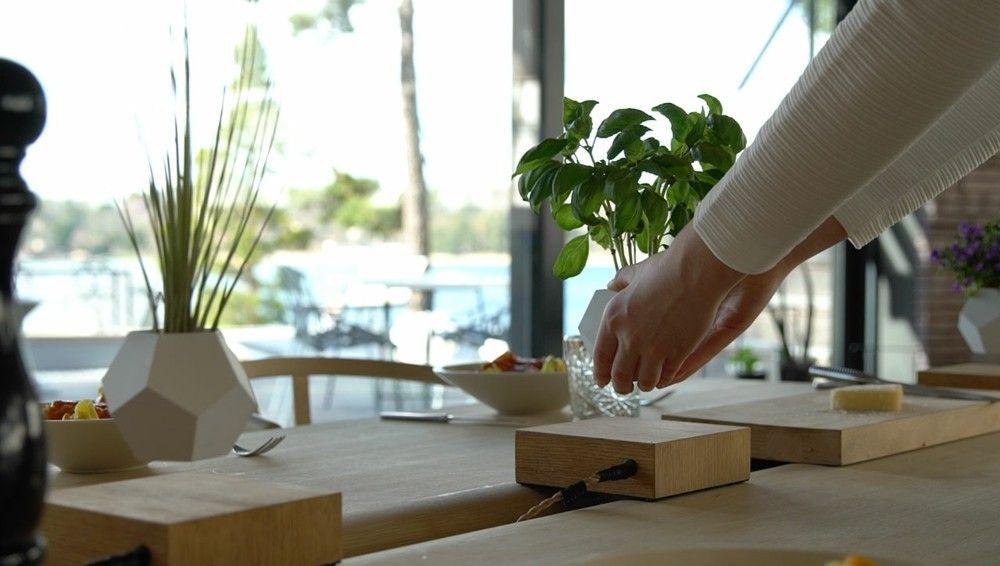 Moderne Tischdekoration Design Trend 2016 Futuristische Akzente