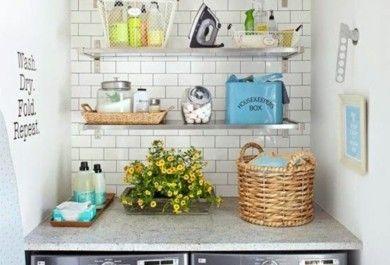 10 Praktische Ideen Für Die Einrichtung Der Kleinen Waschküche    Trendomat.com