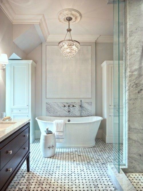 Badezimmer Fliesen Marmor Weis