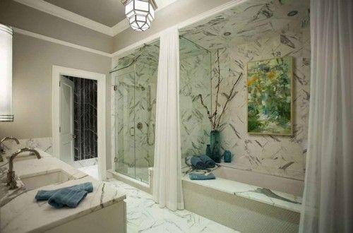 marmorboden und marmorfliesen als akzent im interieur – 50, Innenarchitektur ideen