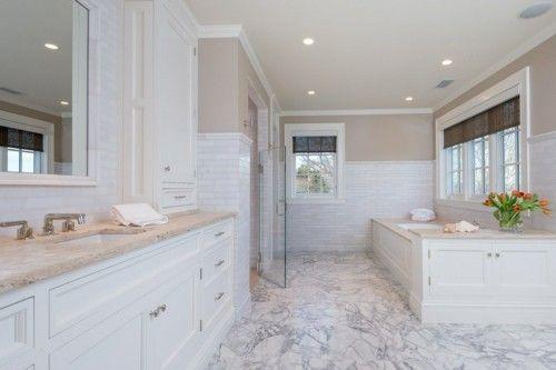 badezimmer-ideen-marmor-duschwand