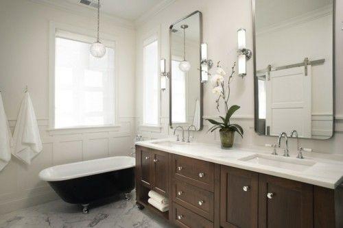 badezimmer-spiegelschrank-marmor-freistehende-badewanne