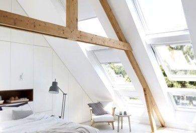 Clevere Ideen für hinreißende Interieur Designs mit Dachfenstern ...