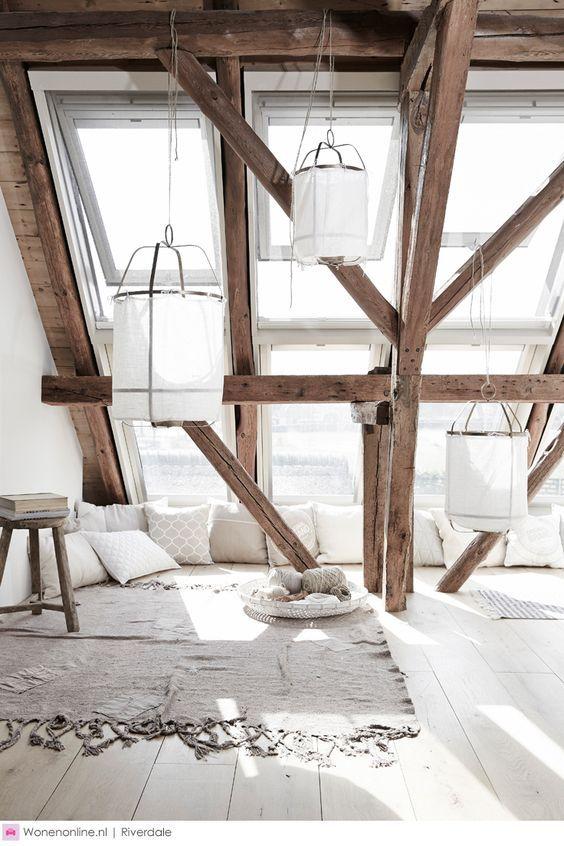 5. Clevere Ideen Für Hinreißende Interieur Designs Mit Dachfenstern Im  Mansarden.