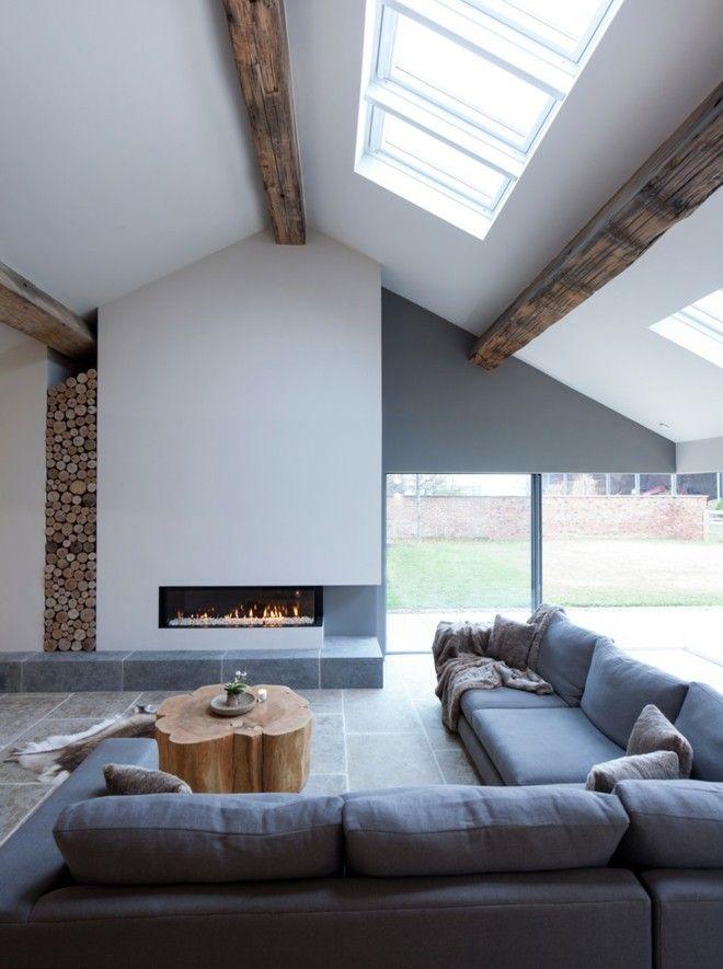 dachschrage-wohnzimmer-einrichten-holz-deko-balken
