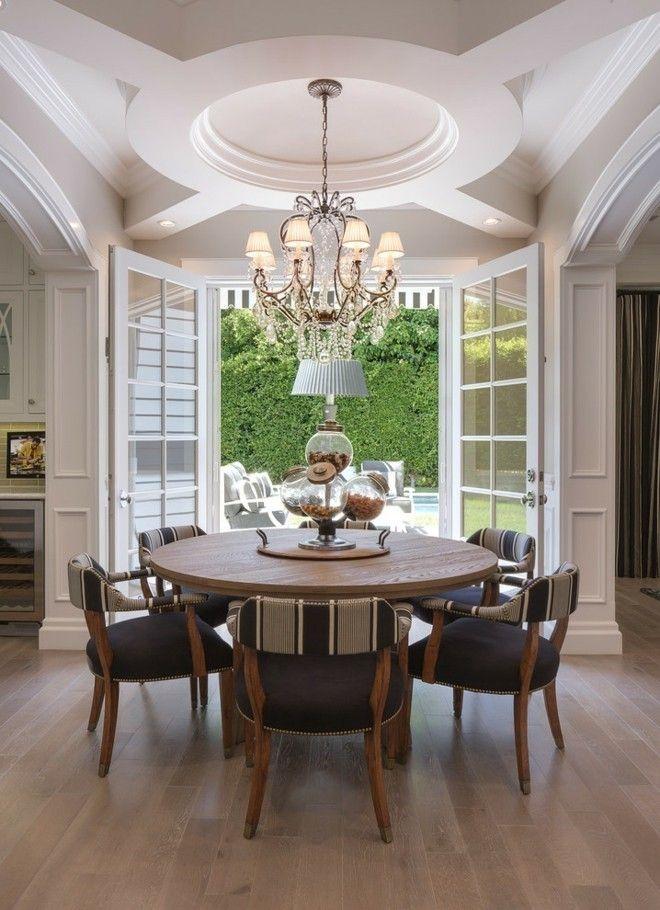 stilvoll gestaltete esszimmer stehen hoch im trend. Black Bedroom Furniture Sets. Home Design Ideas