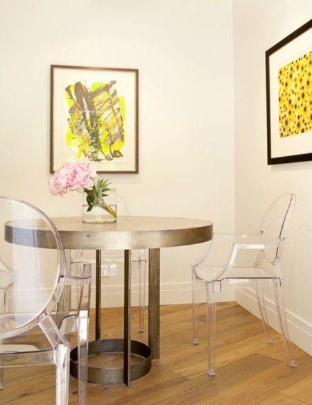 Esszimmer Einrichten Runder Tisch Stuhl Mit Armlehne