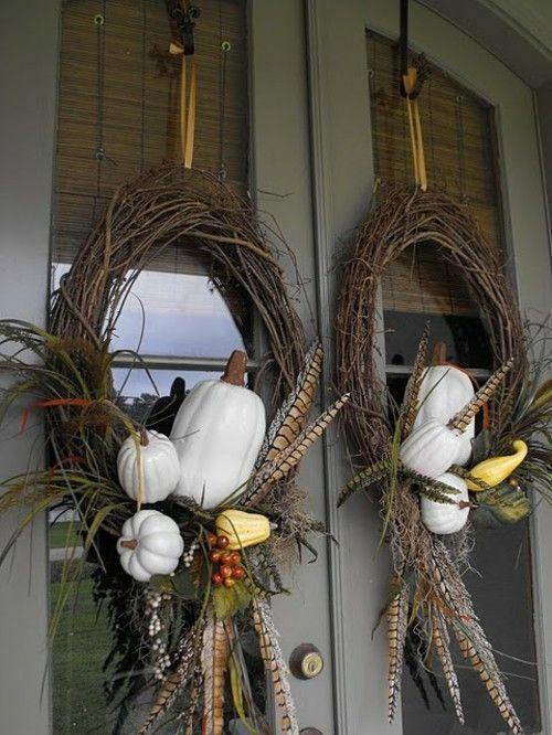herbst-halloween-dekoration-ideen-kurbisse