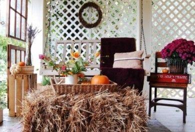 Klassische Herbst-deko-ideen Für Ihren Outdoor-bereich - Trendomat.com Gestaltungsideen Fur Den Outdoor Bereich