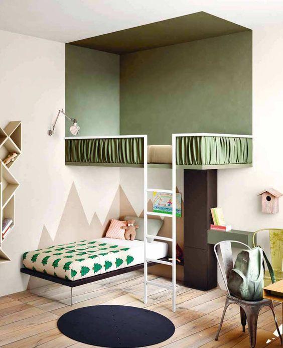 hochbett-design-schone-dekoration-im-kinderzimmer