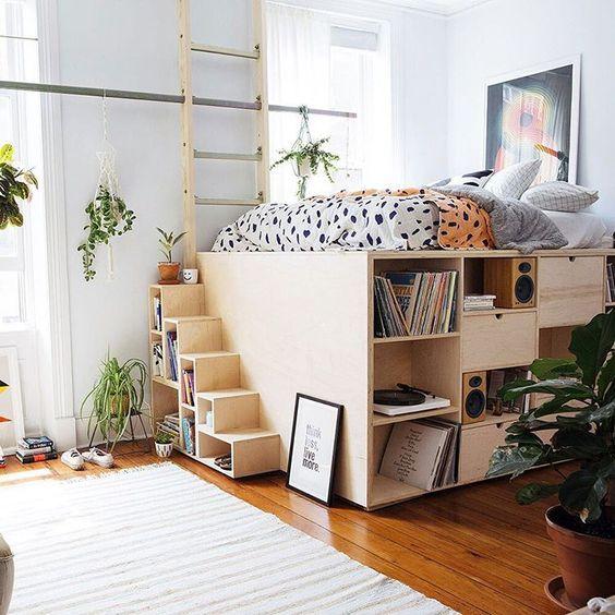hochbetten f r gro und klein aber immer f r echte romantiker. Black Bedroom Furniture Sets. Home Design Ideas