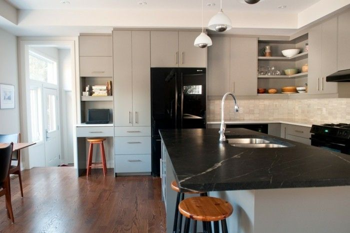 Wie soll man die verschiedenen Arbeitsplatten in der Küche effektiv ...