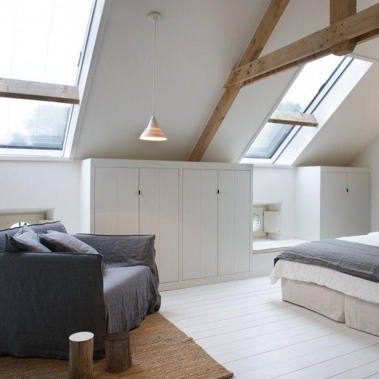 Schlafzimmer Gestalten Dachschrage : mansarde-dachfenster-schlafzimmer ...