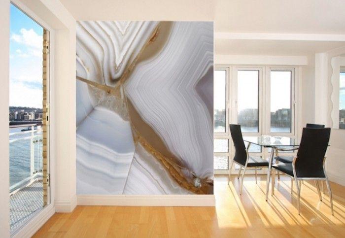 vliestapete wohnzimmer ideen:Moderne Wandgestaltung – tolle Tapeten ...
