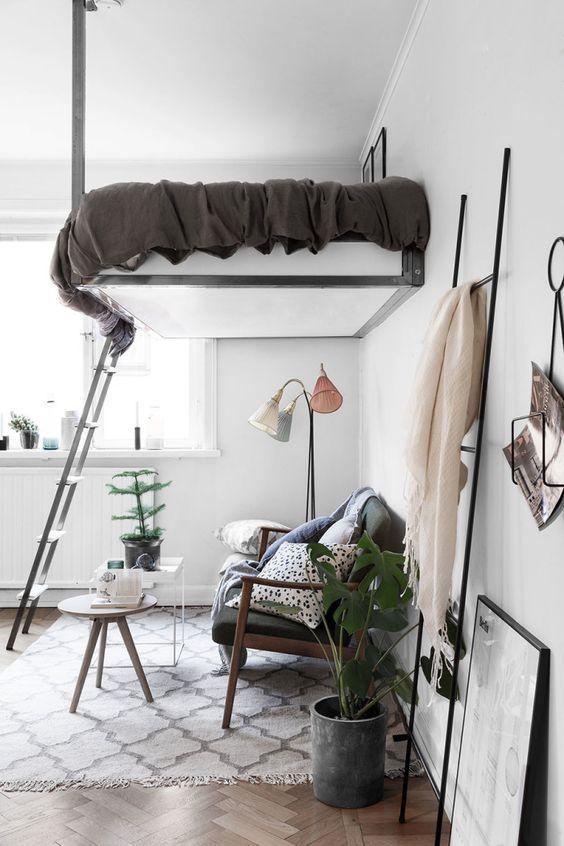 hochbetten f r gro und klein aber immer f r echte. Black Bedroom Furniture Sets. Home Design Ideas