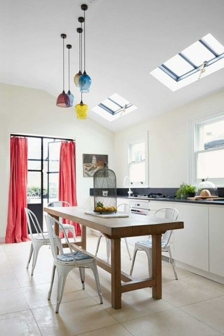 moderne-hangeleuchten-kuche-renovieren-ideen