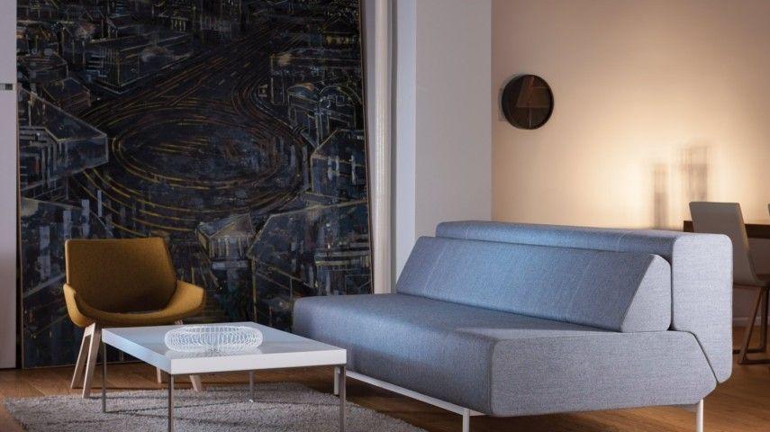 moderner retro stil neutrale farben und grelle farbtupfer. Black Bedroom Furniture Sets. Home Design Ideas