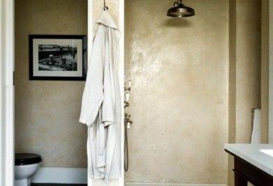Atemberaubende designs f r das badezimmer for Tadelakt auf fliesen