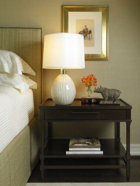 35 entz ckende nachtischlampen f r ein gem tliches flair im schlafzimmer. Black Bedroom Furniture Sets. Home Design Ideas