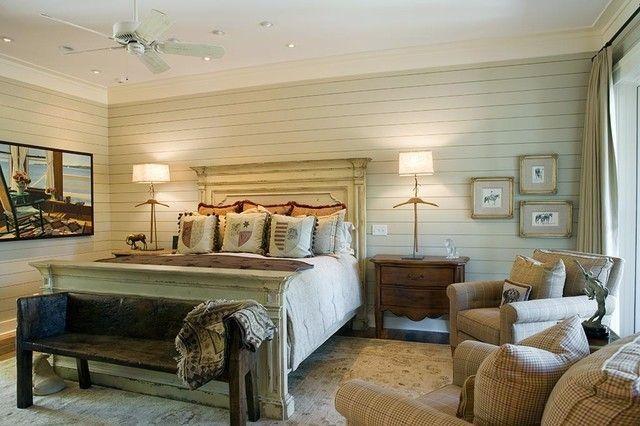 schlafzimmer-retro-look-weise-wandpaneele