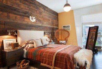 Wandpaneele Holz Landhausstil 20 inspirierende schlafzimmer mit wandpaneelen aus holz trendomat com