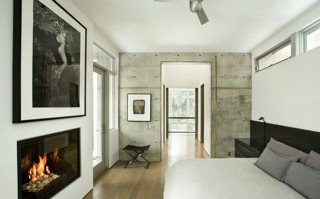 20 inspirierende Schlafzimmer mit Wandpaneelen aus Holz ...