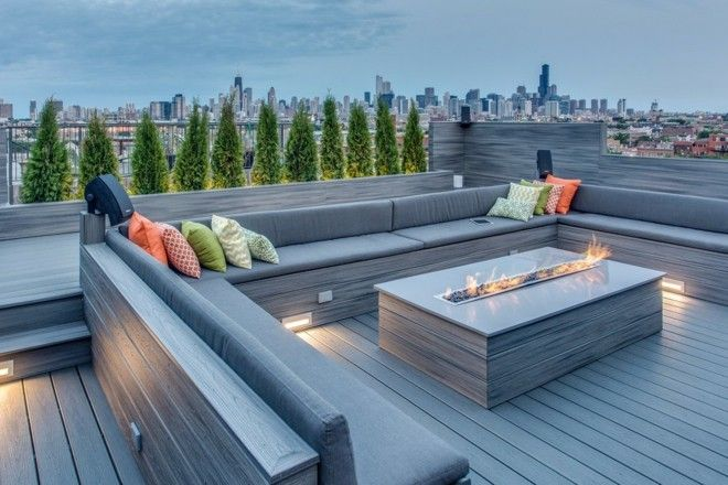 Terrasse Und Balkon ? Gestalten Sie Eine Gemütliche Oase Im ... Moderne Gestaltung Der Dachterrasse