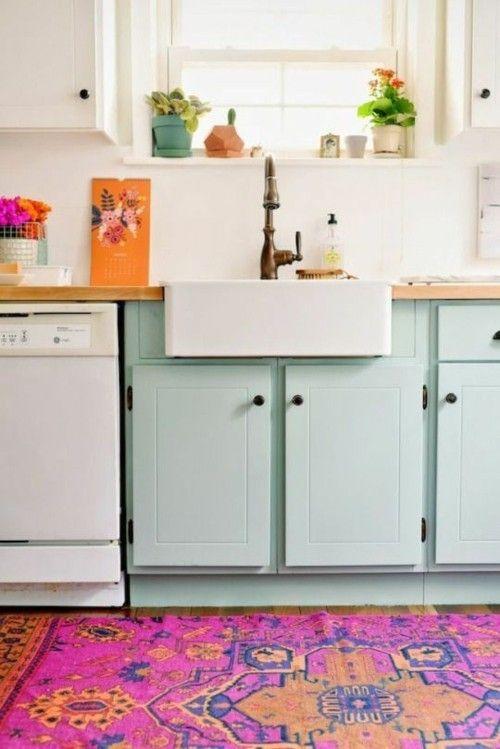 Ideen für küchen im retro look   trendomat.com