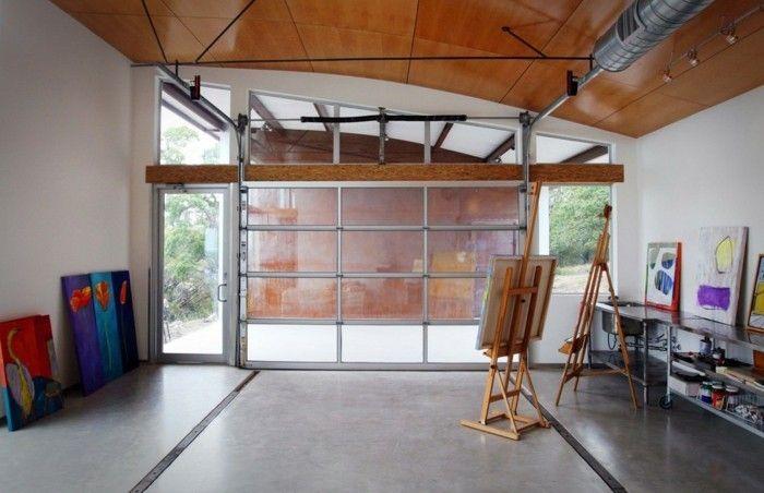 Wandgestaltung Garage Bastelraum Garage Stauraum Ideen