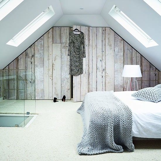 wandgestaltung-holzverkleidung-modernes-schlafzimmer-dachgeschoss