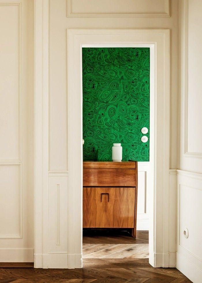 moderne wandgestaltung tolle tapeten trends die sie unbedingt ausprobieren sollen. Black Bedroom Furniture Sets. Home Design Ideas