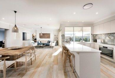 Wohnideen Offene Räume eine offene küche verbindet kochen und essen wohnen und relax