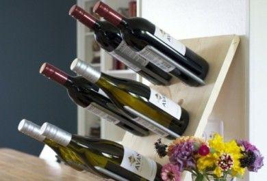 Tolle weinregale f r echte weinkenner genuss und stil in einem - Weinflaschen deko ...